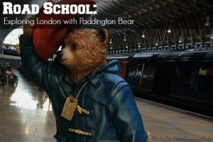 Road School Exploring London with Paddington Bear