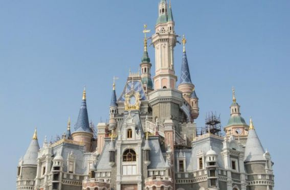 Disney Shanghai Enchanted Storybook Castle
