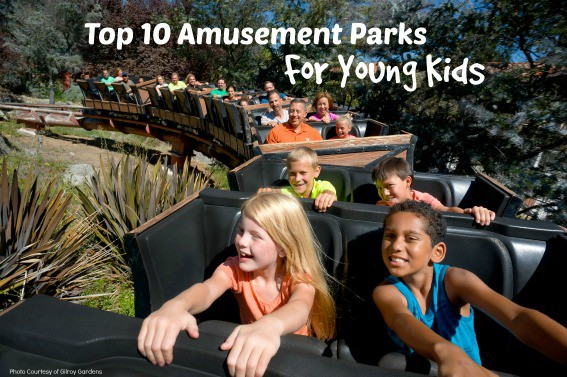 Top 10 amusement parks for young kids