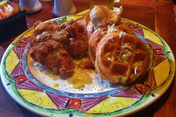 Chicken and Waffles Miss Shirley's Balitmore