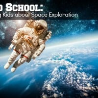 Road School Teaching Kids about Space Exploration
