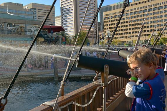 Urban Pirates Inner Harbor Baltimore