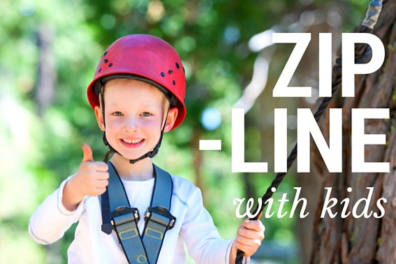 best places to go ziplining with kdis