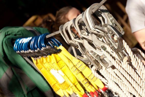 Zipline Equipment