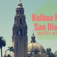 Balboa Park with kids #sandiego #balboapark