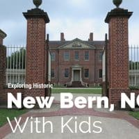 New Bern with kids #northcarolina #newbern