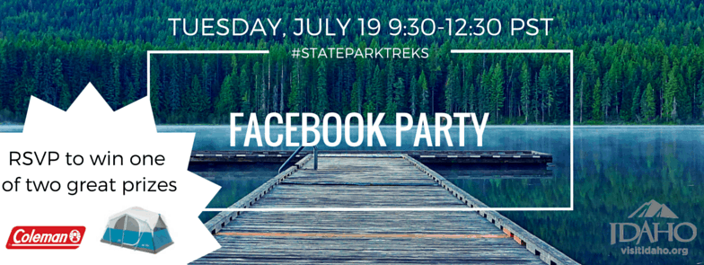 State Parks Facebook Party