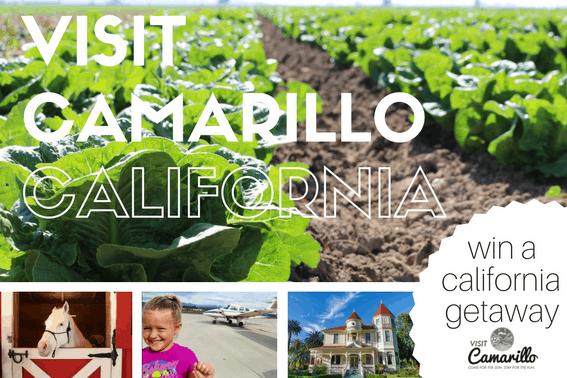 Visit Camarillo, California and ENTER TO WIN A Southern California Getaway Vacation